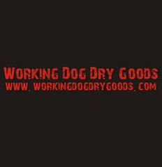 Working Dog Dry Goods